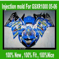 Injection Mold Light Bluefor K5 SUZUKI GSXR 1000 2005 2006 GSX R1000 GSXR1000 K5 05 06