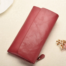 2018 New Women Wallets Genuine Leather High Quality Long Des