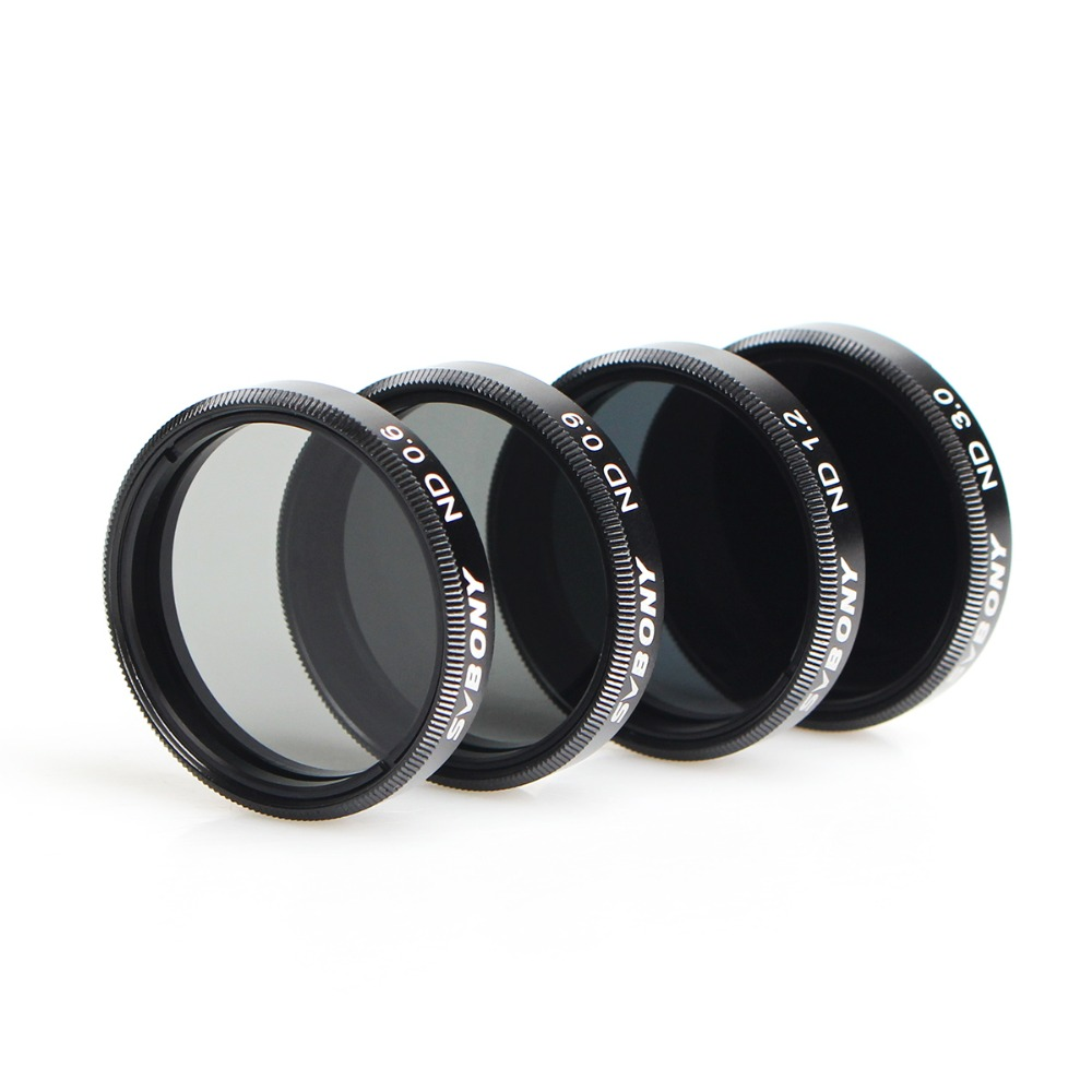 SVBONY 1.25 Filter Set ND Neutral Density Moon Filter Kit for Telescope Eyepiece Reduce Overall Brightness F9151A древпром табурет древпром скалли жемчуг rjlkthq