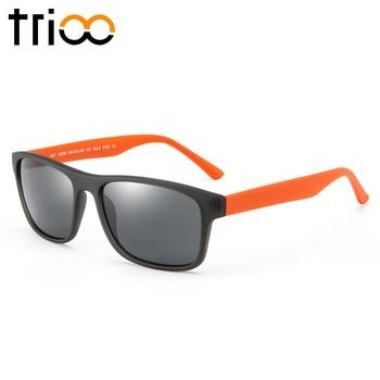 TRIOO Driver Prescription Glasses Minus Eyewear Polarized Reading Mens Diopter Eye glasses UV400 Photochromic Myopia Spectacles