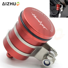 Motorcycle Oil Cup Brake Fluid Reservoir Clutch Tank For honda hoRnet 250 2001 With