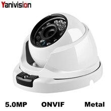 H.265 8MP 5MP ONVIF P2P IP uchwyt na aparat obserwacja IP kamera IR Cut noktowizor Danale APP mała kopuła kamera IP