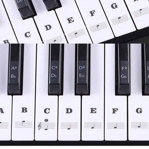 Transparent Piano Keyboard Sti