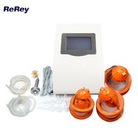 Free Shipping Digital Breast Care Device with Vacuum Lymph Drainage Vibration Massage for Beauty Salon