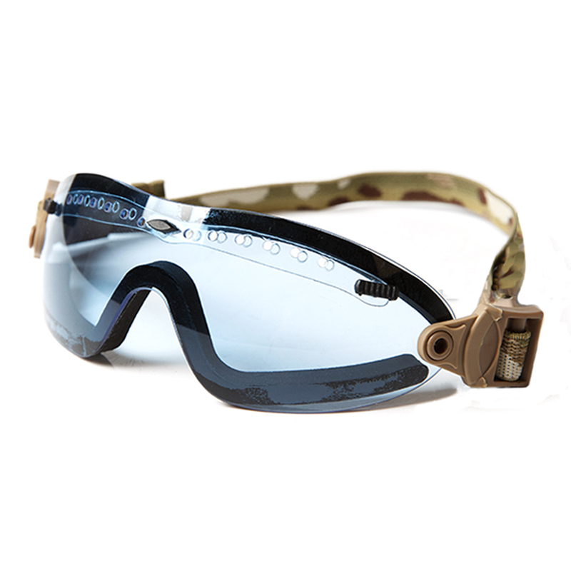 2018 New Ballistic Goggles Boogie Regolatore Eyeglass Multicam Belt for Hunting Airsoft Paintball Protective Eyewear Free Ship