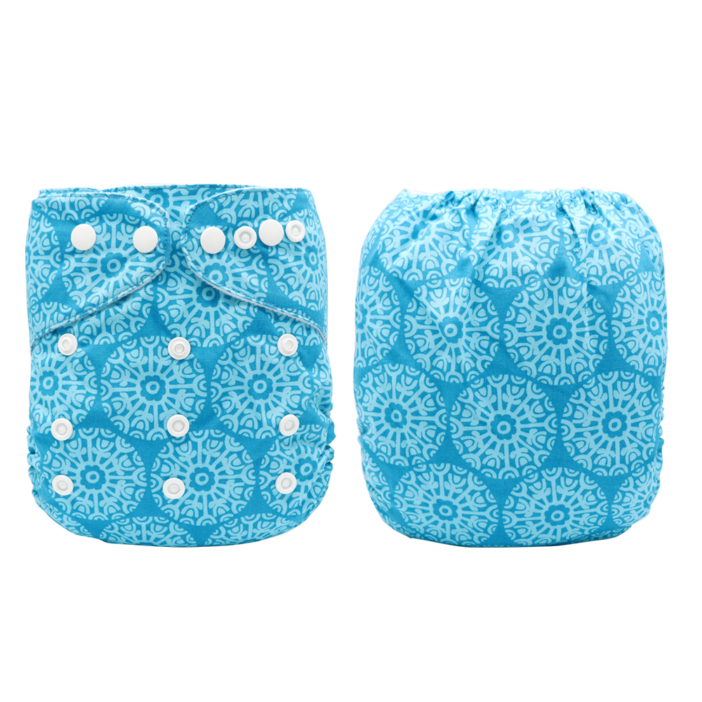 MABOJ Baby Cloth Diapers Cloth Nappy Leak-proof Washable Waterproof Adjustable Baby Nappies Wholesale New Arrival