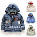 new 2015 spring autumn boys outerwear children clothing kids jackets & coats child cool casual hooded top boy coat