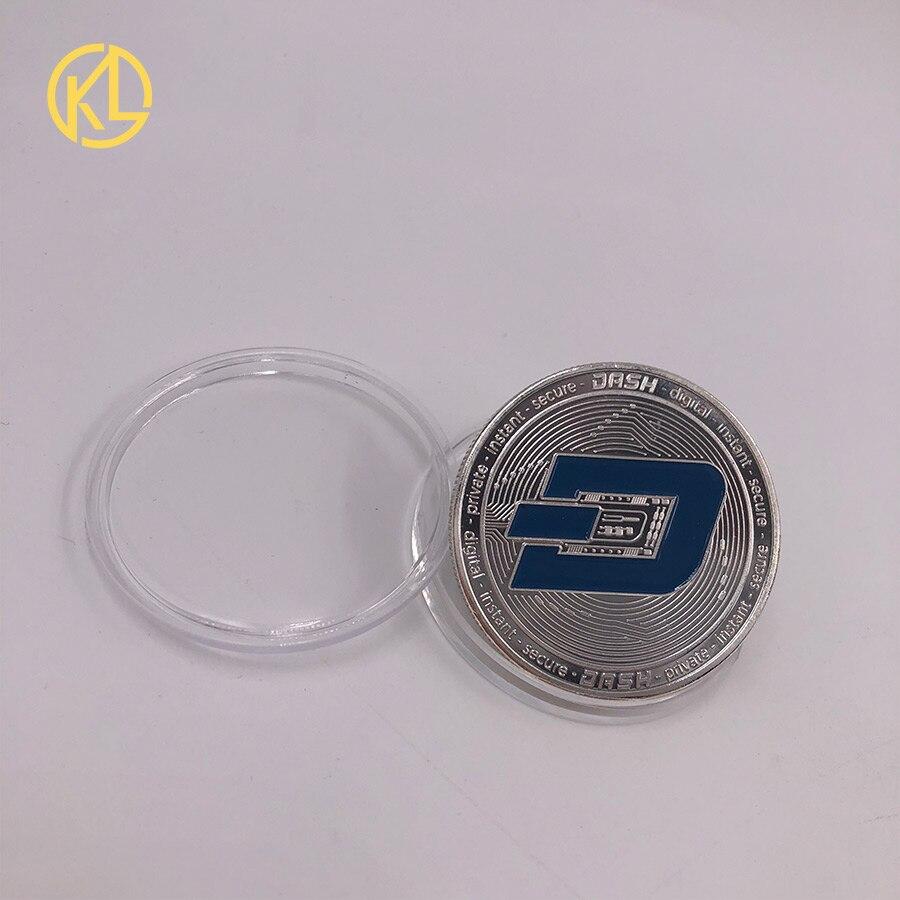 CO017 1 шт. не монеты иностранных валют Dash эфириум Litecoin пульсация Биткойн XMR Monero монета 8 видов памятных монет Прямая - Цвет: CO-017-2