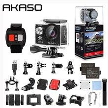 AKASO EK7000 4 K Câmera Ao Ar Livre WI-FI Ultra HD DV Camcorder 12MP À Prova D' Água de 170 Graus Wide Angle
