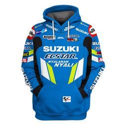 2019 Motorcycle Hoodies Sweatshirt For SUZUKI Racing Team Sport Jacket RR GSXR GXS Motorbike Clothing
