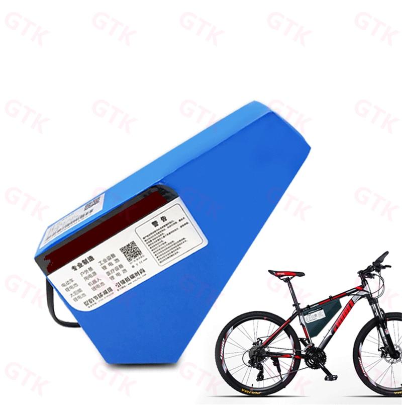 36V or 48V Mountain Bike Triangle li-ion 18650 Battery Storage Bag Fast Ship