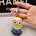 2015 Baby Toys Minions Keychain Lot 3d Key Ring Christmas Gifts For Children