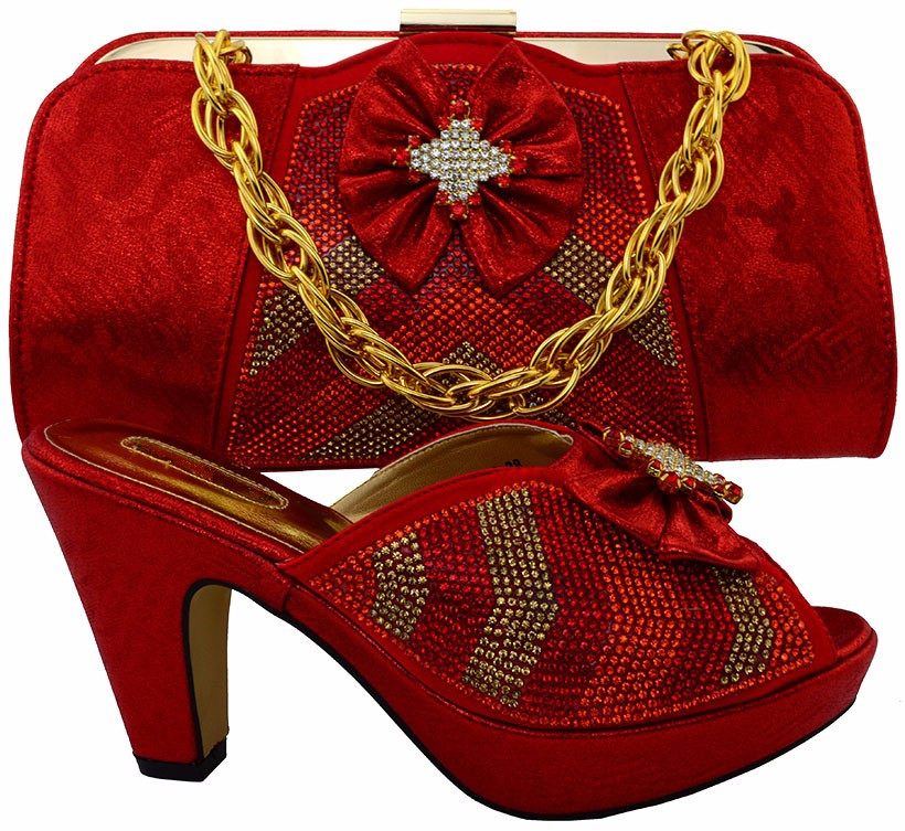 African Wedding Shoes And Bag Set To Matching Italian Matching Shoe And Bag Set With Stones For Party Fashion Lady Sandal MM1028 mf012 african shoes and bag set for nigeria lady black color italian style fashion italy shoe and bag to matching party