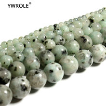 Atacado Granito Tienshan Azul natural Pedra Solta Beads Para Fazer Jóias DIY Cristal Pulseira 4/6/8/ 10/12 milímetros Strand 15''