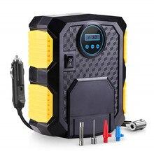 Pneu de carro inflator digital compressor de ar portátil 12v bomba pneu elétrico inflação para carro motocicleta