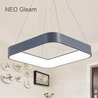 NEO Gleam Dining Room Bar Led Modern Chandelier Novelty Lustre Lamparas Colgantes Lamp For Bedroom Living