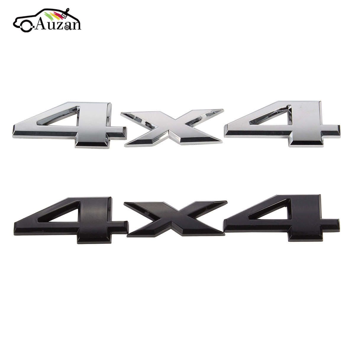 3D 4x4 Emblem Badge Car Sticker Logo Decal For Jeep /Grand /Cherokee Black Silver