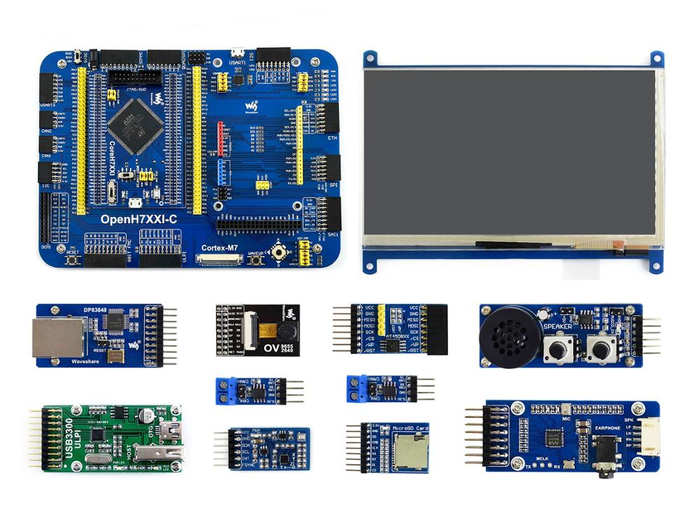 Waveshare OpenH743I-C Package B, STM32H7 Development Board