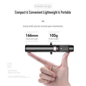 Image 5 - ロック Bluetooth Selfie スティックポータブルハンドヘルドスマート電話カメラの三脚用のワイヤレスリモコンで iphone サムスン Huawei 社の Android