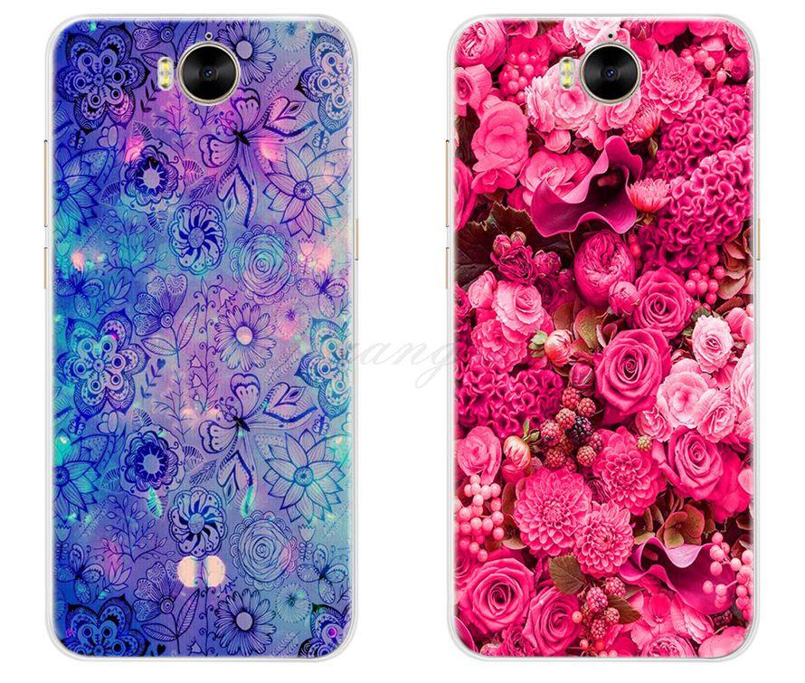 half off 01392 263c7 Phone Huawei Y5 Mya-L22 Mya-U29 Huawei Y5 Silicone Soft 360 Nice Back Cover  For Huawei Y5 Case