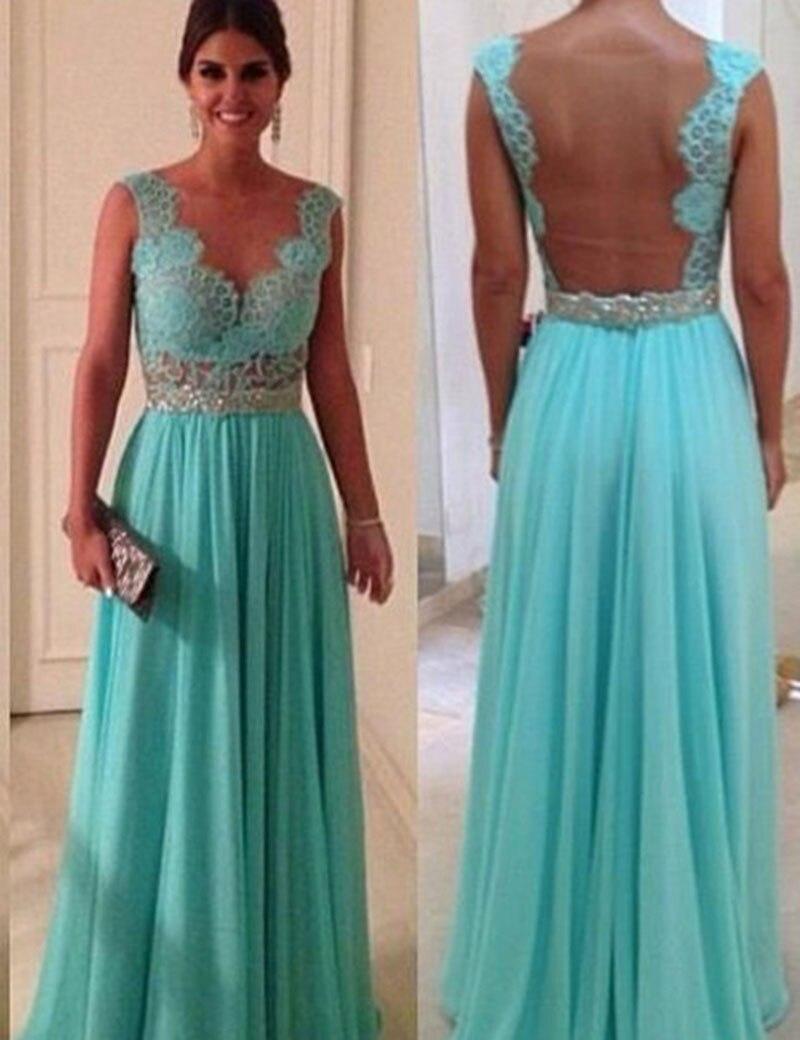 b7de1696d vestidos de encaje turquesa