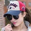 1 Unids Nueva Primavera Moda Gorras de Béisbol de Los Hombres Y Mujeres de Letras Bordadas HATBANK1952 Playa Sombrero Del Snapback 6 Colores 8512