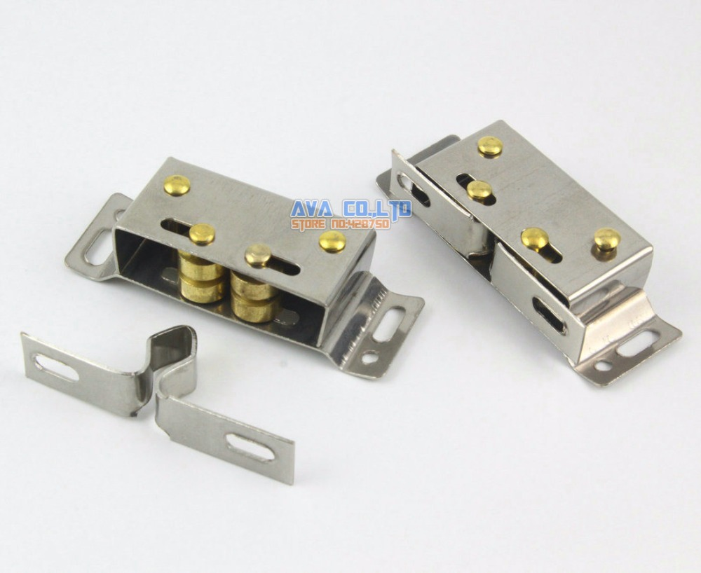 10 Cabinet Cupboard Roller Catch Door Catch Door Closer In