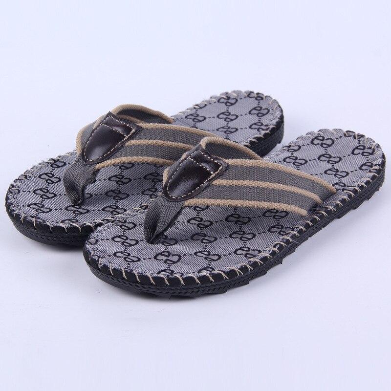 designer flip flops m826  Hommes de Flip Flops Plage Sandales Chaussures D'茅t茅 De Mode Conception Flip  Pantoufles Chinelo