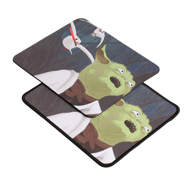Small 220*180mm thick 2mm DIY mouse pad custom anime picture mousepad for game gamer mouse pad lock edge Leave your picture