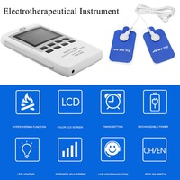 TENS Dual Channel EMS Pain Relief Electrical Nerve Muscle Simulator Digital Therapy Massager Physiotherapy Heating Body Health