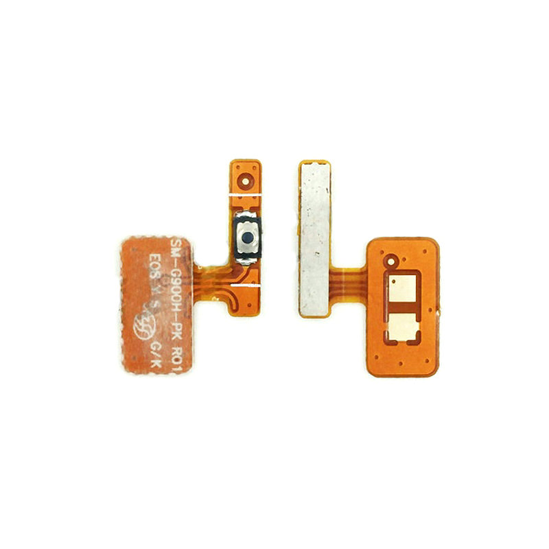 New Power On/off Button Flex Cable Replacement For Samsung Galaxy S5 G900F G900H G9006V/G9008V/W/09D