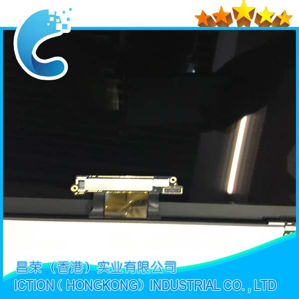 Original Silver Color A1534 Full LCD For Apple Macbook Retina 12 A1534 Full LCD Display Assembly 2015 Year MF855LL/A MF865LL/A original new a1534 keyboard for macbook 12 a1534 mf855ll a mf865ll a us standard keyboard 2015 2016 year
