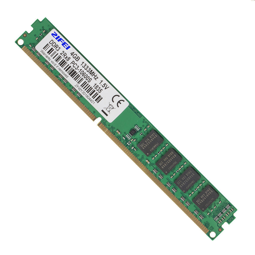ZIFEI RAM DDR3 8GB 4GB 1866 1600 1333 1066 MHz 2Rx8 Dual module 240pin non-ECC DIMM UDIMM Desktop Memory work with Intel&AMD