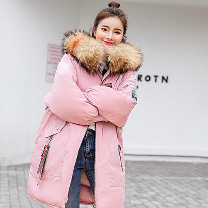 Casual Floral Outwear Capuchon 2018 Long 6 Femmes Fourrure Veste Hiver Fermeture Col 4 Chaud Éclair 2 De Manteau Plus Parka Taille Aoteman 1 Mode 3 5 pwOFxZpq