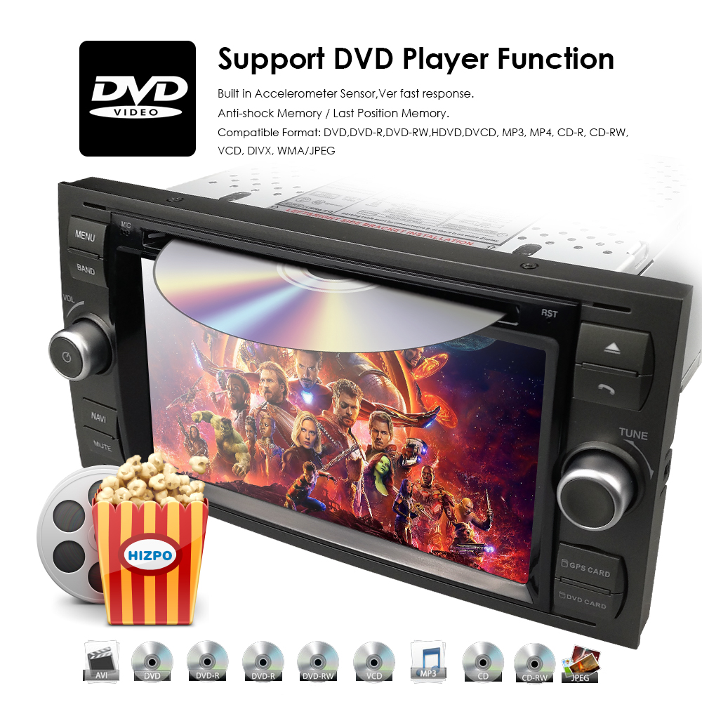 DVD Car USD For 14