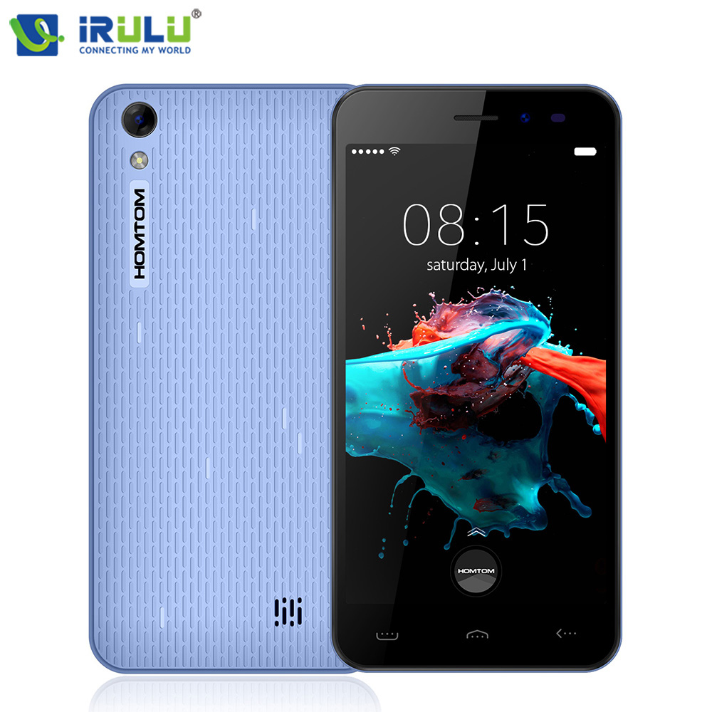 HOMTOM HT16 Andriod 6 0 Mobile Phone 5 Inch MTK6580 Quad Core 1GB 8GB Dual Cameras