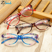 Zilead Cat Eye Women Reading Glasses Mens Resin Anti Fatigue Reading-glasse Presbyopic Womens Transparent Spectacles