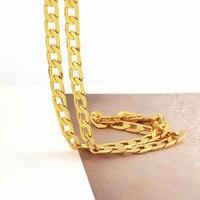 מוצק זהב 14 קראט GF שרשרת Mens שרשרת יום הולדת ולנטיין מתנה יקר ללא תנאי אחריות החלפה לכל החיים