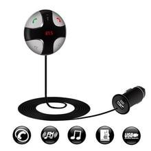 Inalámbrico Aux Bluetooth Car Kit Manos Libres Transmisor FM Para VW Módulo Bluetooth Adaptador Receptor de Música Estéreo Del Coche Carga Del Coche Del USB