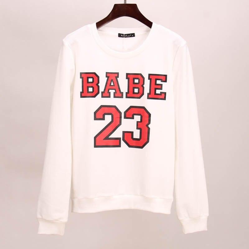 Sakura sweatshirt hoodies women BABE 23 printed tracksuits suits tees women woman tops tracksuit set