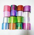 New 1 roll Holographic Shiny Laser Nail Art Transfer Foil Sticker Paper Broken Glass DIY Nail Beauty Decal Decoration Tools