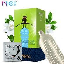 MIO шипованные презервативы для мужчин G Spot Kondom крупные частицы большие презервативы с точечным рисунком для задержки семяизвержения рукава интимные товары сексуальные игрушки