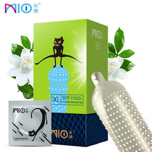 hot deal buy mio spike condoms for man g spot stimulate kondom with big particle g-point dotted condoms penis sleeves sex products toys