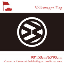 Free shipping 60*90cm 90*150cm 3*5FT Polyster Volkswagen Flag For Home Office Party Bar