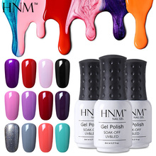 HNM Soak Off Gel Nail Polish UV LED Semi Permanent