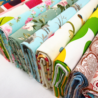 240cm printed cotton tablecloth canvas fabric thick cotton diy curtain pillowcase sheets sofa fabric patchwork fabric
