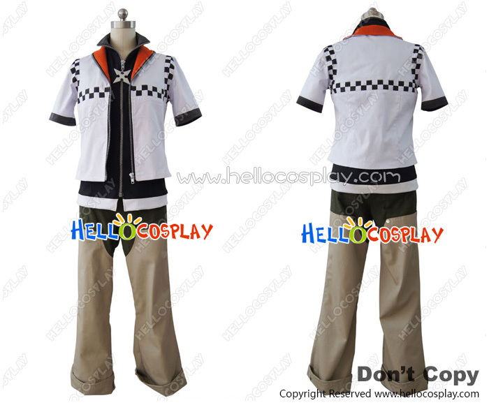 Kingdom Hearts Roxas Cosplay Costume Advanced Customization H008