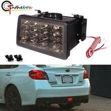 Gtinthebox – phare arrière tout en un pour Subaru WRX/STi Impreza XV Crosstrek, LED stroboscopique de Style F1, 3e et 4e génération