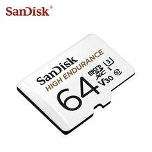Высокопрочная Карта памяти SanDisk 32 Гб 64 Гб Micro SD карта SDHC/SDXC класс 10 TF карты для видео мониторинга вождения рекордер