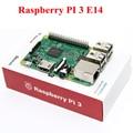 10 компл./лот Raspberry Pi 3 Модель B 1 ГБ RAM Quad Core 1.2 ГГц 64bit ПРОЦЕССОРА Wi-Fi и Bluetooth элементов 14